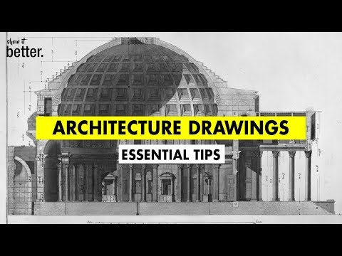 Draw like an Architect  / Essential Tips to IMPROVE your drawings