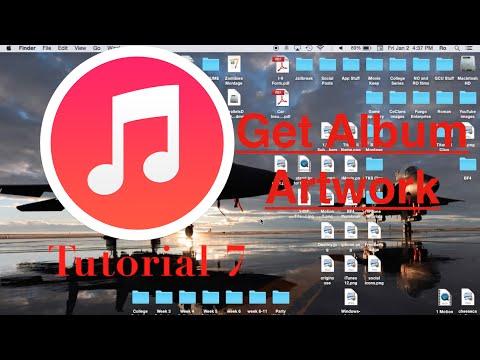 Get Album Artwork in iTunes 12 | Tutorial 7