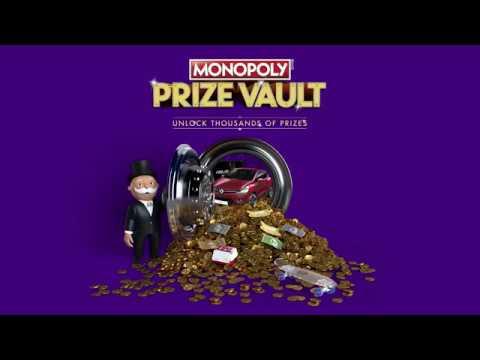 Monopoly Prize Vault 2018