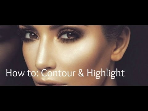 How To Make Your Face Look Thinner: Highlight and Contour (updated)