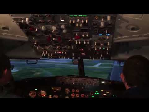 Flight student absolutely FAILS landing an airliner on final checkride