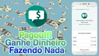 Pagou!! Ganhe Dinheiro No Paypal Recebendo Sms No Seu Celular
