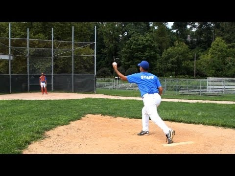How to Pitch a Curveball | Baseball Pitching