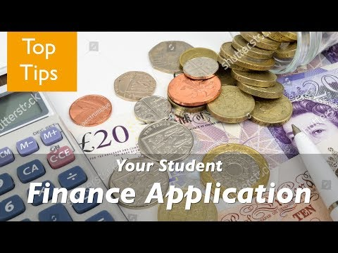 Top Tips for Your Student Finance Application