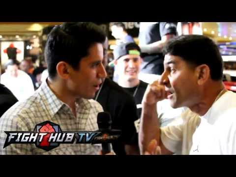 Angel Garcia flips out on Marcos Villegas over Lucas Matthysse