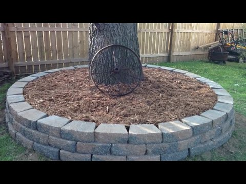 DIY - Yard Decor - Stone Border For Your Tree - Step By Step - Made Simple Series #2