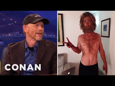 Ron Howard Starved Chris Hemsworth  - CONAN on TBS