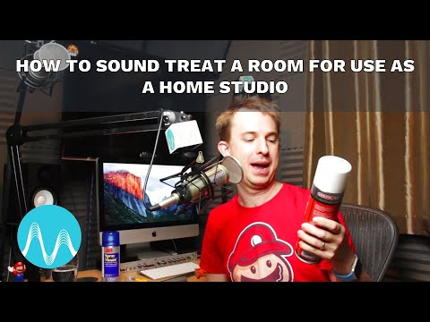 How to Sound Treat a Room For Use as a Home Studio