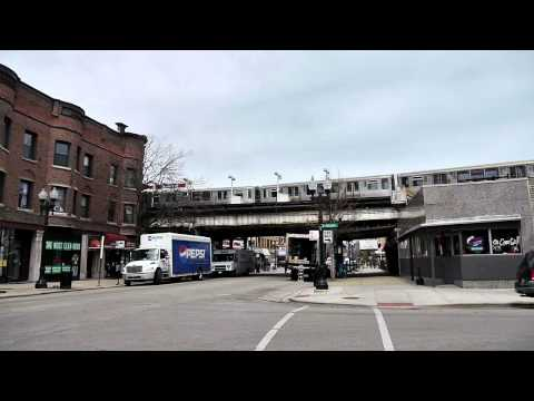 Riding the Red Line: The Sheridan station in Chicago's Lake View