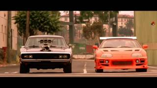 Muscle cars wheelies in Fast & Furious 720