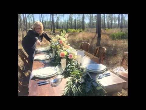 Romantic Antler Tablescape