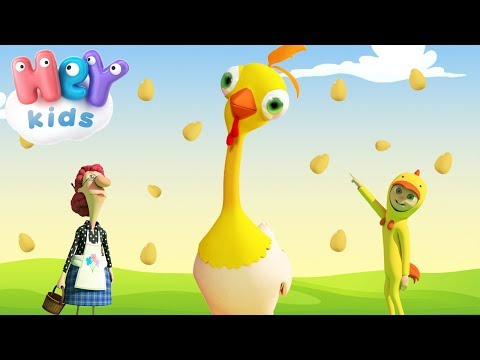 Spock-a Doodle, Chicken Noodle - Funny Songs For Kids - HeyKids