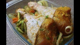 EASY BAKED TURKEY DRUMSTICKS IN OVEN | Tender turkey recipe