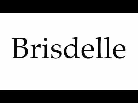 How to Pronounce Brisdelle