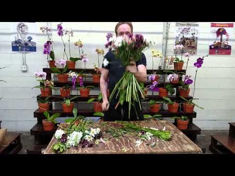 Floral design class Michael Gaffney
