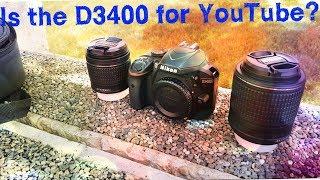 CyberVlog E3 - Why I use the Nikon D3400 for YouTube