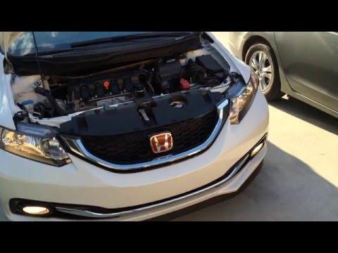 2012-2015 Honda Civic Headlight Bulb Replacement