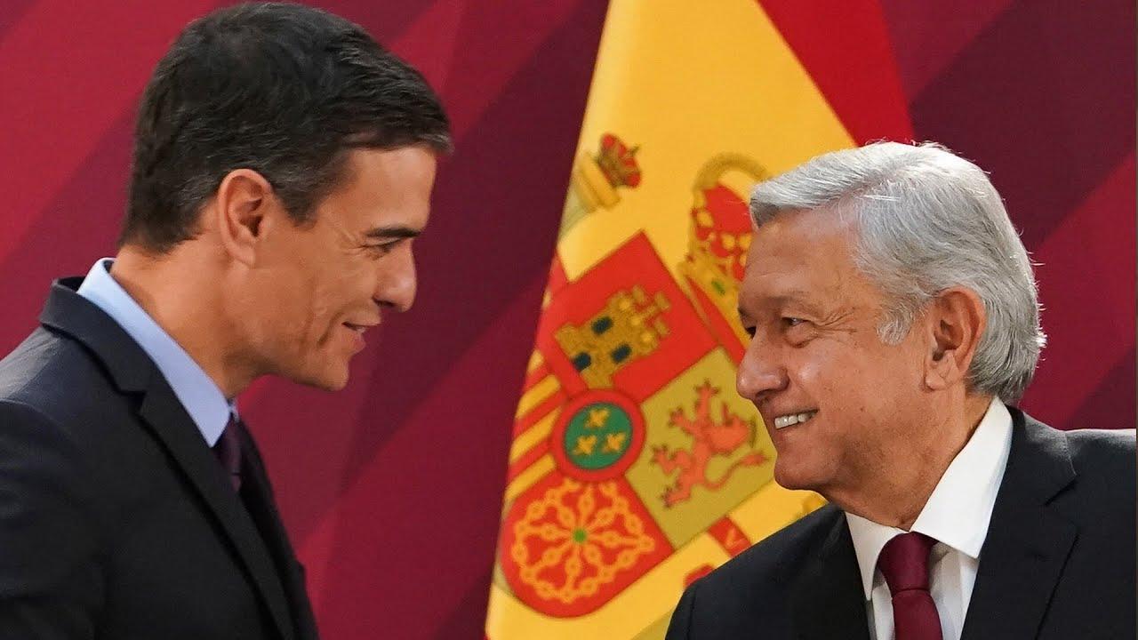Estrechan relación bilateral presidentes de México y España