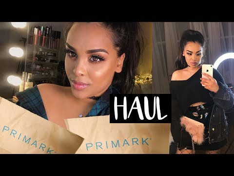 PRIMARK Haul and TRY ON JANUARY| NikkisSecretx