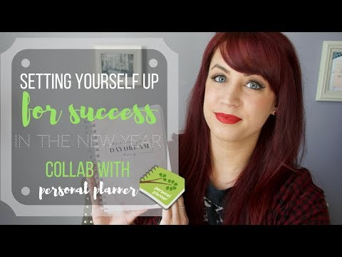 Set Yourself Up For Success In The New Year | Personal Planner Collab