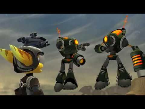 RPCS3 0.0.4-8024 4k IR | Ratchet & Clank Collection (Ratchet3) Gameplay