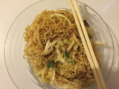 How to: Stir Fry Ramen Noodles