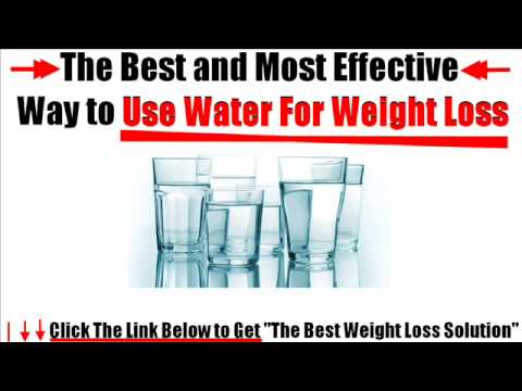 Water to Drink For Weight Loss