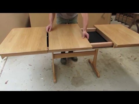 How to store your extension dining table leaf
