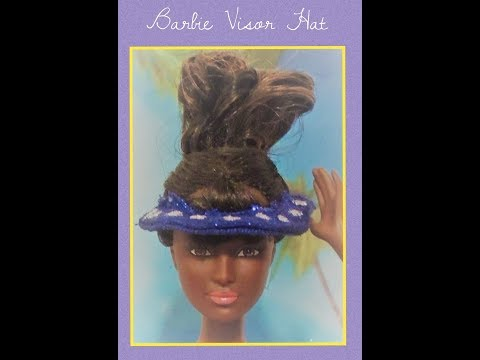 How to: DIY - barbie visor hat