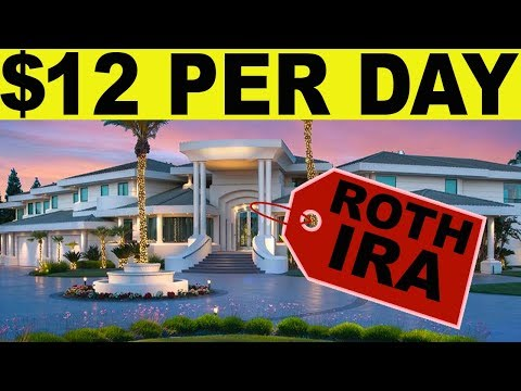 Roth IRA: How to be a TAX FREE MILLIONAIRE with $12 PER DAY