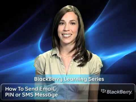 Send Email, PIN  or SMS Messages on your BlackBerry™: AT&T How To Video Series for BlackBerry™