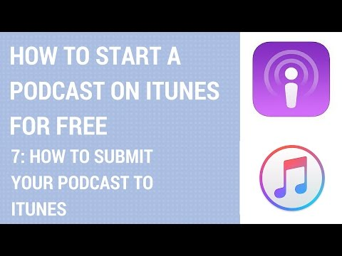 How To Start A Podcast On iTunes For Free - How To Submit Your Podcast To iTunes