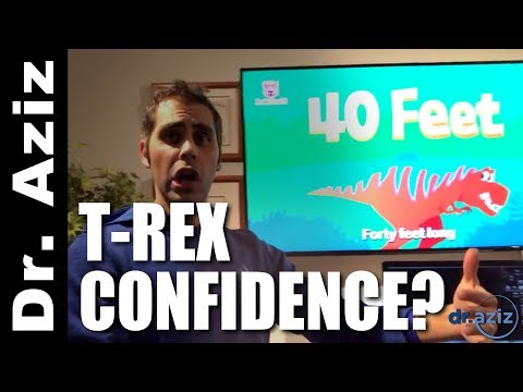 T-Rex Confidence? Stop Caring What Others Think Of You! | Dr. Aziz Confidence Coach