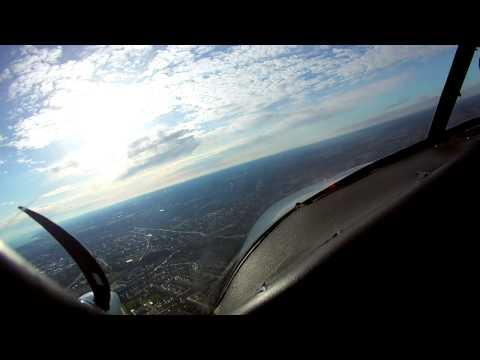 Piper PA27 Aztec | IFR Cross Country Flight | ATC Audio