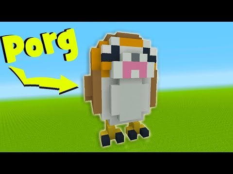Minecraft Tutorial: How To Make A Porg