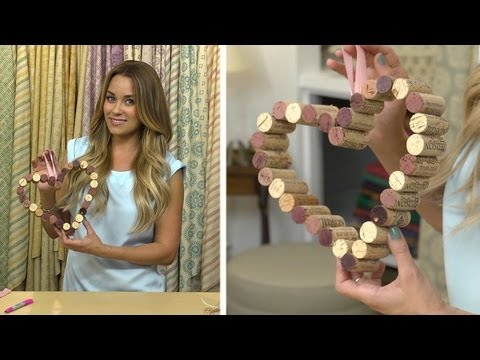 Lauren Conrad: Wine Cork Bulletin Board
