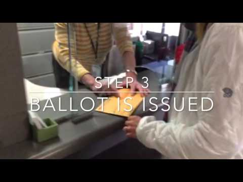 Absentee Voting in Five Easy Steps