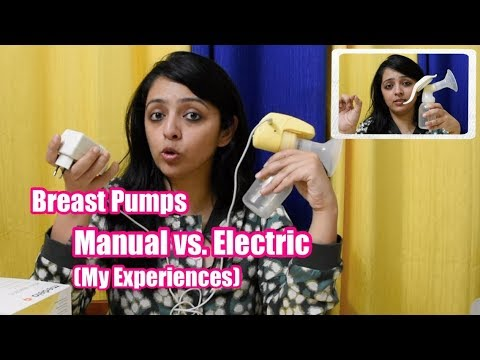 MANUAL vs. ELECTRIC BREAST PUMP || My experience of these useful devices
