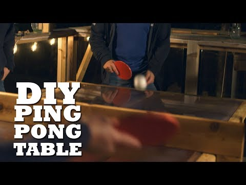 Hot to make a Ping Pong Table