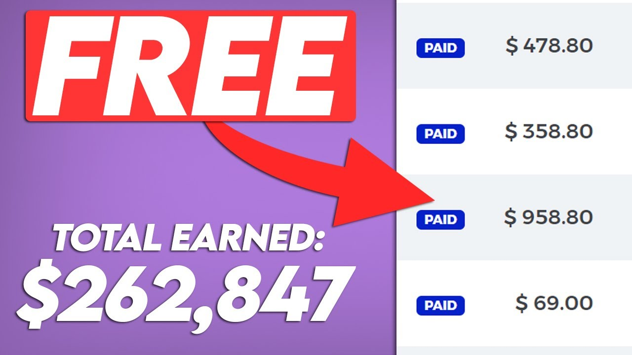 Make $150 Per 10 Mins For FREE ($262,847 In Total!) Work From Home