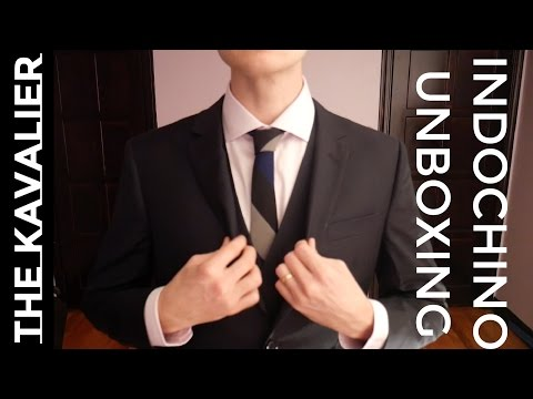 My First INDOCHINO Suit || Unboxing and pre Review Made to Measure Suit