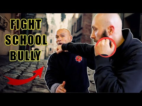 How do you Fight a school Bully | pushing you