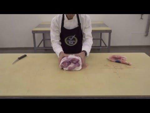 Pork Shoulder - Ontario Pork Butchery Demo