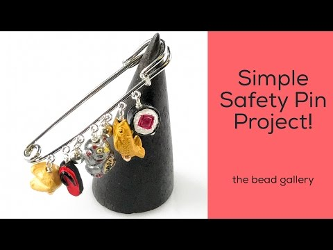 Safety Pin Project at The Bead Gallery!
