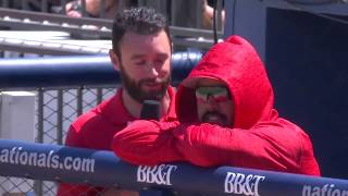 Anthony Rendon is thrilled to be with Dan Kolko