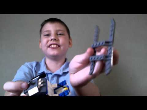 How to make a police helicopter out of legos