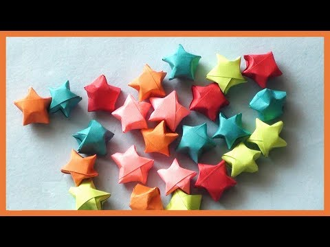 DIY PAPER STARS ORIGAMI | HOW TO MAKE PAPER STARS TUTORIAL