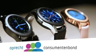 Samsung Galaxy Watch - IFA 2018 (Consumentenbond)