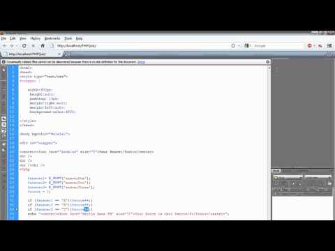 PHP Quiz app Part  -2