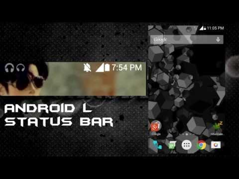 Android Lollipop ui for Samsung galaxy star pro